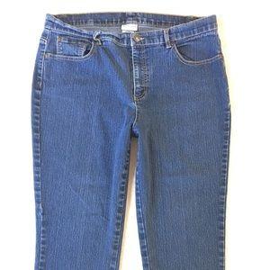 Jaclyn Smith Women's Capri Jeans Cropped